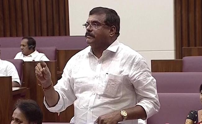 Minister Botsa Satyanarayana Slams Chandrababu Naidu - Sakshi