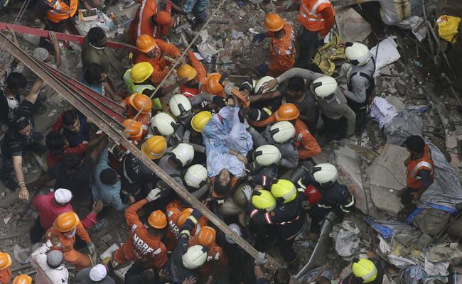 Mumbai Building Collapse Incident In Maharashtra - Sakshi