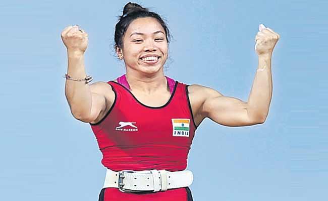 Indian Weightlifter Mirabai Chanu Battles With Injury Fear - Sakshi