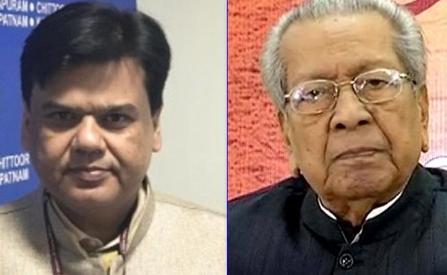 AP Bhawan Resident Commissioner Met Biswabhusan Harichandan - Sakshi