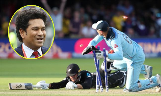 Sachin Tendulkar Says Another Super Over Should Decide Winner - Sakshi