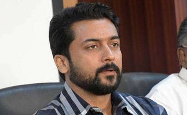 Surya Controversy Comments on Education System - Sakshi