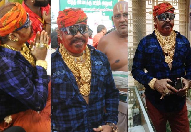 Varichiyur Selvam Visit Athi Varadar Temple - Sakshi