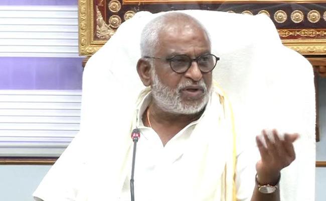TTD Chairman YV Subba Reddy Fires On Lokesh - Sakshi