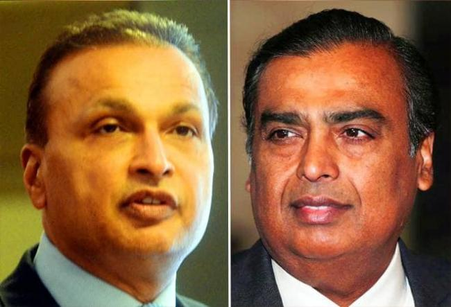 Mukesh Ambani Reliance Industries may bid for Anil's RCom in bankruptcy - Sakshi