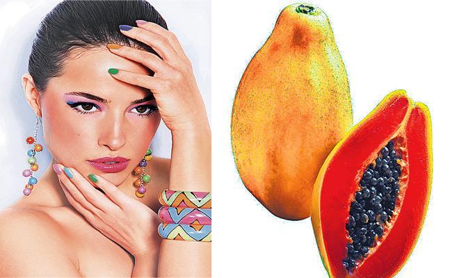 Skin Buety With Papaya Fruit - Sakshi