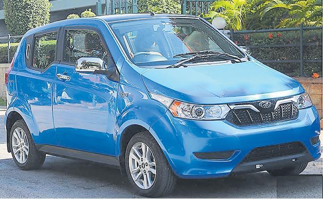 Mahindra And Mahindra Company Concentration Of  Electrical Model Vehicles - Sakshi