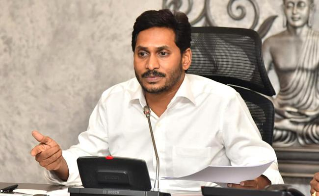 CM YS Jagan review with district collectors and SPs On Spandhana - Sakshi
