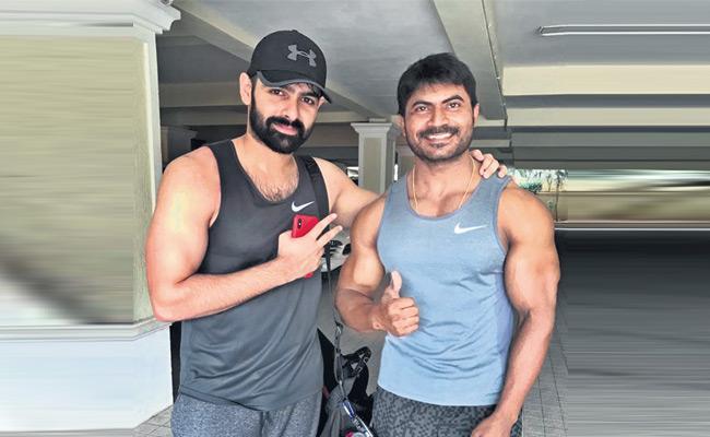Ram Pothineni Special Workouts For Ismart Shankar - Sakshi