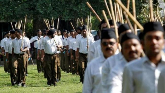 Bihar Police Asked to Gather Information on RSS Functionaries - Sakshi