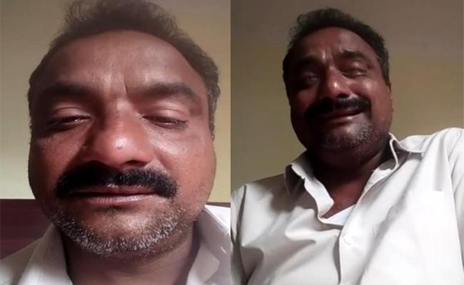 Khammam Man Selfie Video Blaming Debts In Business - Sakshi