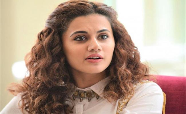 Taapsee Pannu Counter To Troll Over Dig At Kabir Singh Director In Her Cryptic Tweet - Sakshi