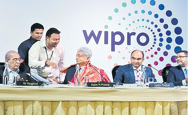 Azim Premji Said New Development  Wipro Company - Sakshi