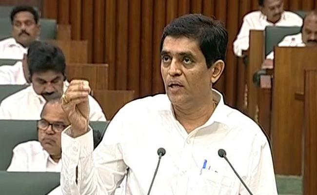 Buggana Rajendranath Reddy Comments On Acchemnaidu - Sakshi