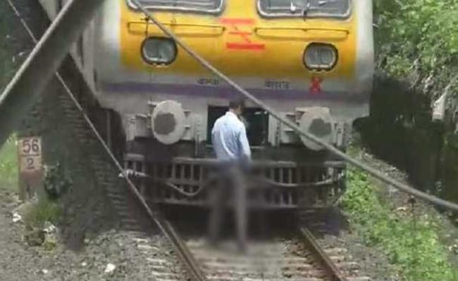 Motorman In Maharashtra Stops Train Midway To Urinate On Track - Sakshi