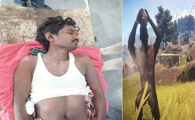 Man Dies After Being Hit on The Head By Nephew Near Milavaram  - Sakshi