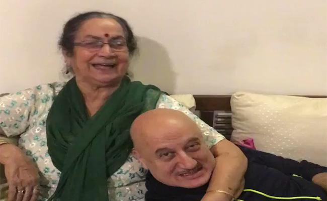 Anupam Kher Said She Is Called Me Ganju Patel  - Sakshi