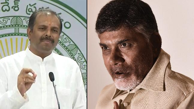 AP Chief Whip Srikanth Reddy Slams Ex CM Chandrababu Naidu - Sakshi