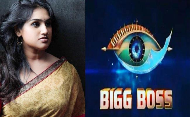Vanitha Vijay Kumar Interview on Tamil Big Boss - Sakshi