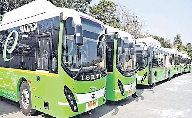 Problems Facing TSRTC For Electric Buses - Sakshi