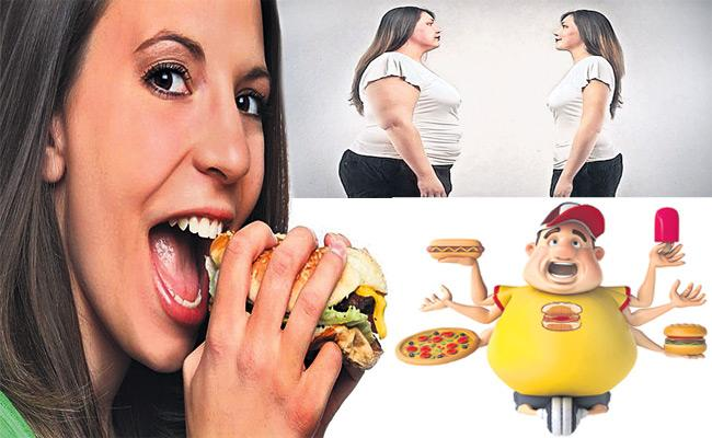 Hyderabad People Suffering With Obesity - Sakshi