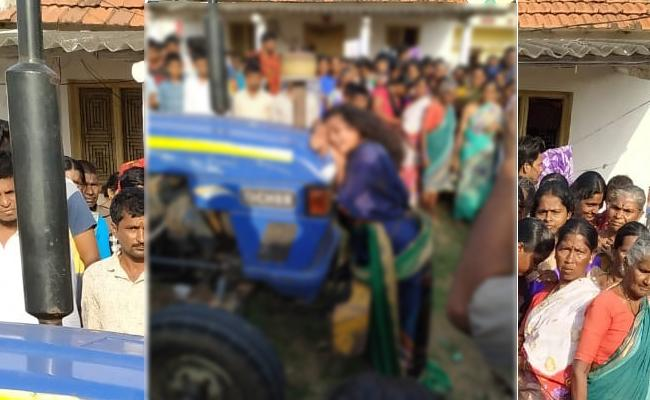 Woman Beaten By Villagers In Sircilla District Over Illegal Affair - Sakshi
