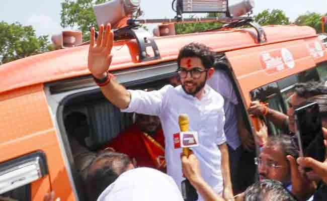 Aditya Thackeray Begins 4000 Km Maharashtra Tour Ahead Assembly Elections - Sakshi