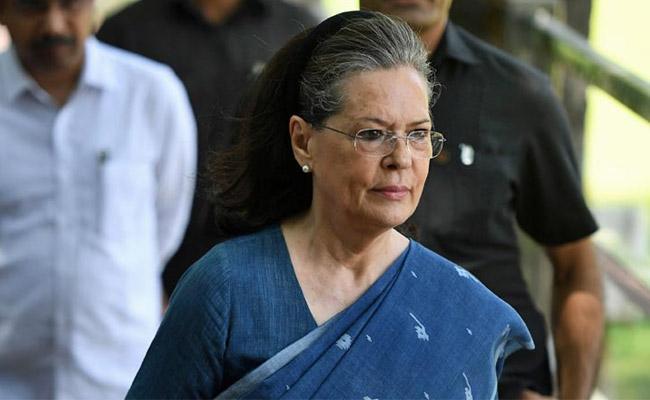 Sonia Gandhi Letter To Telangana Congress Leaders - Sakshi
