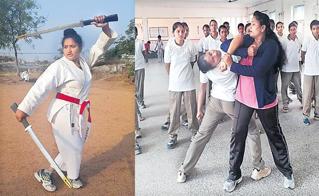 Self Defence Lessons From Lasmi Samrajyam - Sakshi