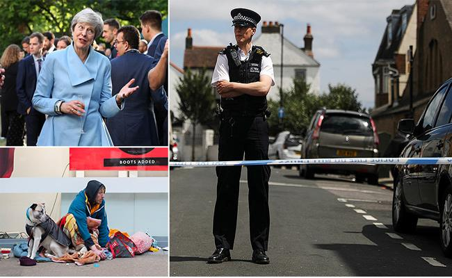 Growing Crime in London For Inequalities  - Sakshi