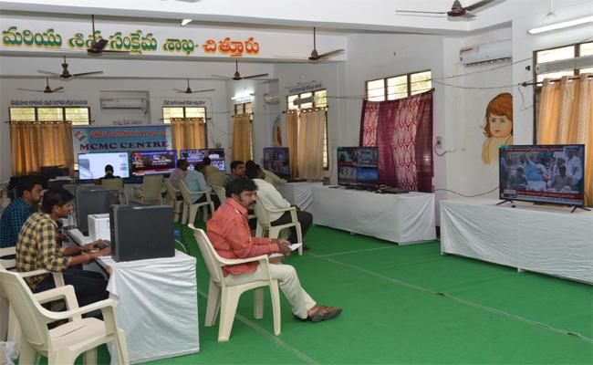 Officers Working In Election Department Of The Chittoor Collectorate Have Robbed The Purchased Election Items - Sakshi