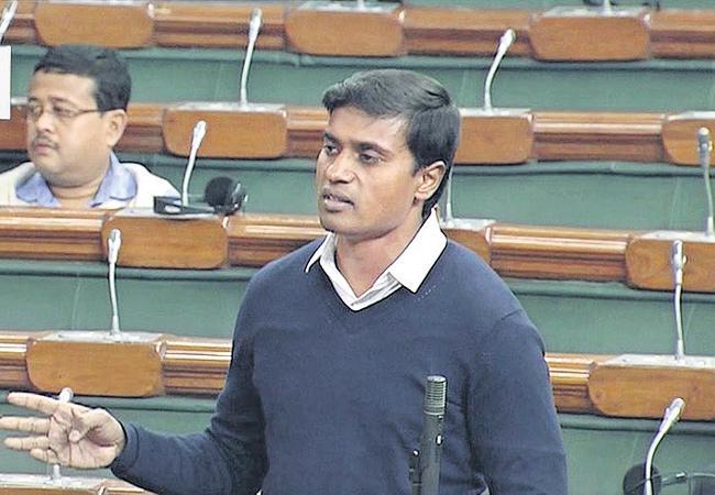 MP Mithun Reddy Demand AP Special Status In Loksabha - Sakshi