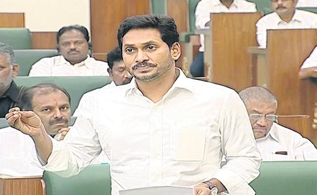 Ys Jaganmohan Reddy Fires On Chandrababu Naidu In AP Assembly - Sakshi