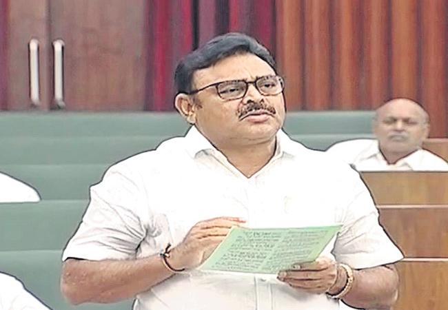 Ambati Rambabu Criticism Chndrababu Naidu In Assembly - Sakshi