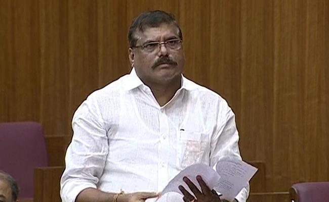Botsa Satyanarayana At Andhra Pradesh Legislative Council - Sakshi