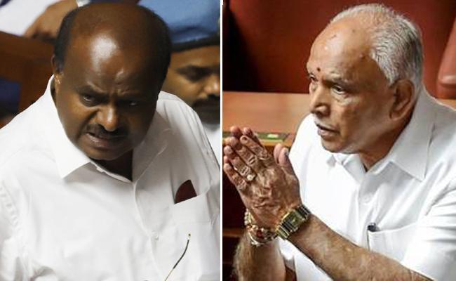 Kumaraswamy Says Not Plead Anybody For CM Post - Sakshi