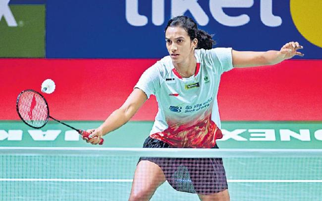 Sindhu enters Indonesia Open quarters, Srikanth ousted - Sakshi