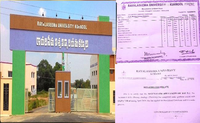 There Is A PG Admission For Failed Students In Rayalaseema University - Sakshi