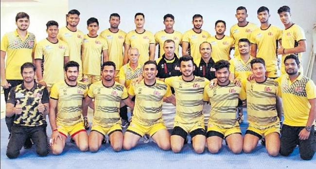 Abozar Mighani to captain Telugu Titans - Sakshi