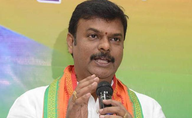BJP MLC Madhav Comments On Chiranjeevi Joining - Sakshi