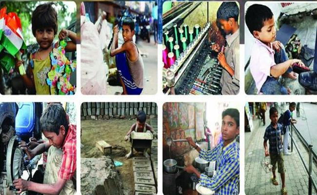 Police Protect Children In Hyderabad - Sakshi