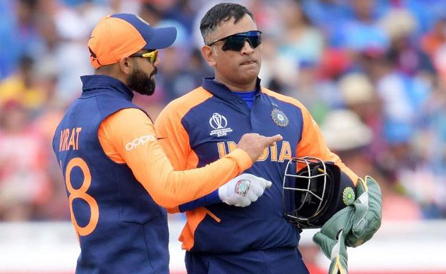 Arun Pandey Says Dhoni Has No Immediate Plans To Retire - Sakshi