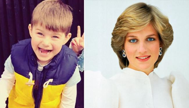 4 Years Australia Boy Claims Reincarnation of Princess Diana - Sakshi