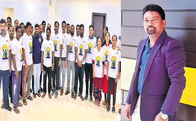 Narendra Panneru Success Story in Oman - Sakshi