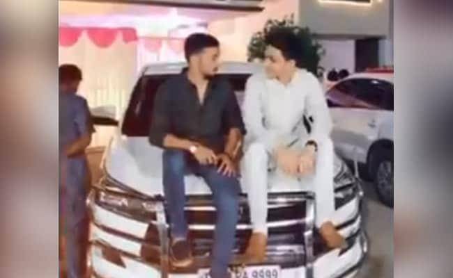 Mohammad Ali Grandson Seen Sitting Atop Police Van In Tik Tok Clip - Sakshi