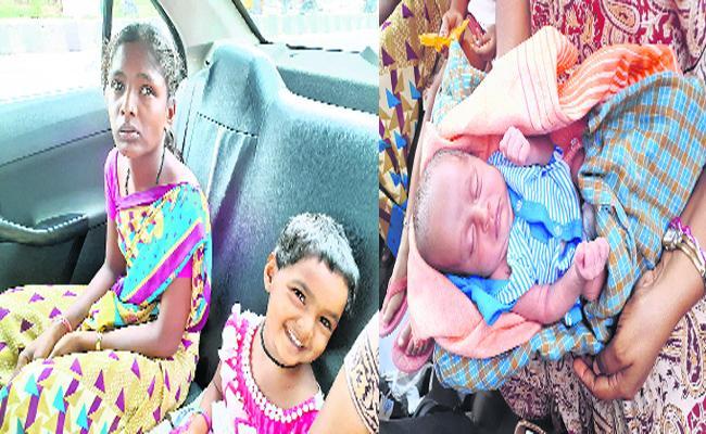 The Baby Story Turning In jagtial - Sakshi