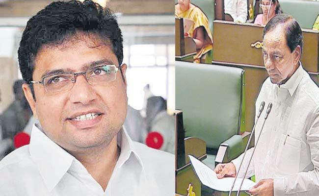 Duddilla Sridhar Babu Fires On KCR - Sakshi