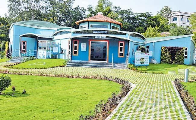 Water Harvesting Theme Park In Hyderabad - Sakshi