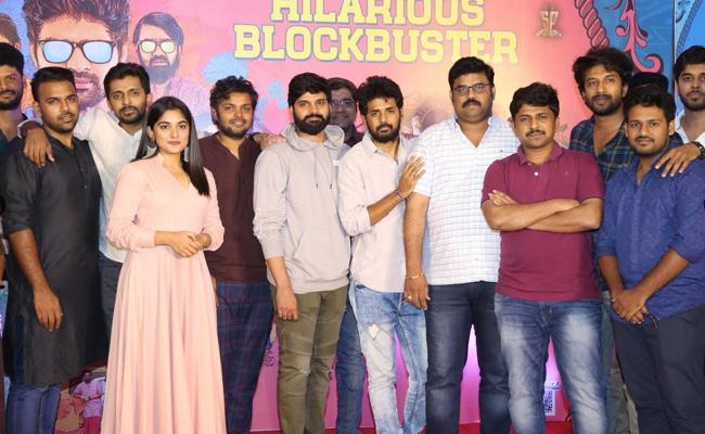Sreevishnu Brochevarevarura Thanks Meet - Sakshi