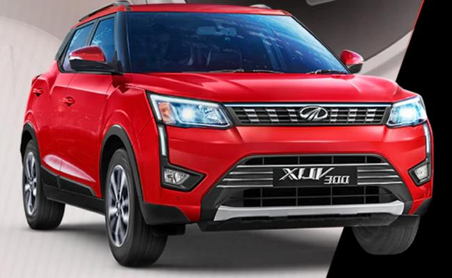 Mahindra drives in AMT version of XUV300 at Rs 11.5 lakh     - Sakshi